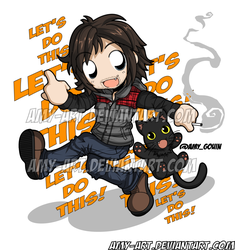 Book For Norman Reedus by amy-art