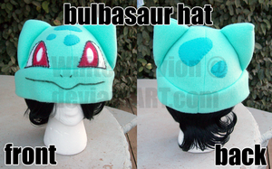Bulbasaur Hat