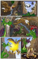 Another Comic Commission by SuperStinkWarrior