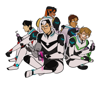 Voltron: space juice by daxarve