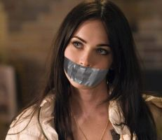 Megan Fox Tape Gagged by Goldy0123