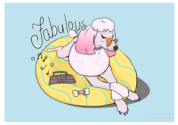 Fabulous Poodle by luciarts