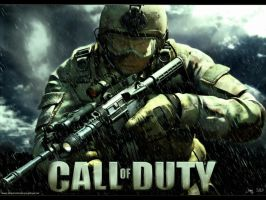 Call of Duty Wallpaper by PhotoshopGTR