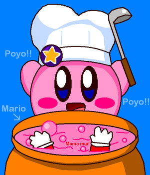 Cook Kirby by cuddlesnam