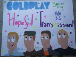 Coldplay Sign by TheSimpsonsFanGirl