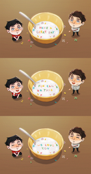 Cereal messages by MichaelaKindlova