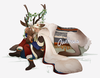comm: 0wltrees by Meirii