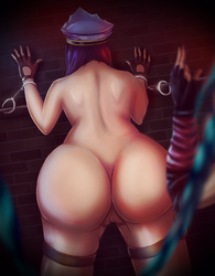 Officer Caitlyn x Jinx - I caught you! nsfw by eschata