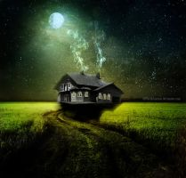 The dark house. by PlacidAnemia