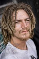 homeless dude miami by renefunk