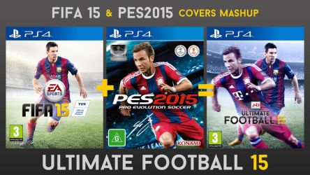 Ultimate Football 15 - Cover Mashup by JuniorNeves