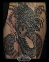 Dragon by state-of-art-tattoo