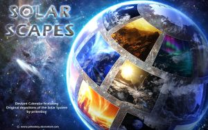 Solar Scapes - 2018 calendar by Chromattix