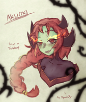 Akuma [C] for Tendaaf by Fyoriosity
