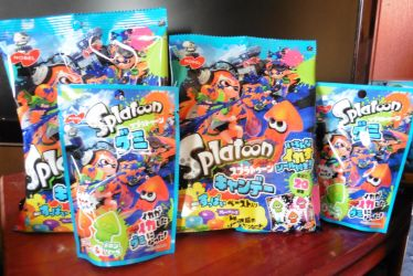 Splatoon themed candy by Robie-Chan