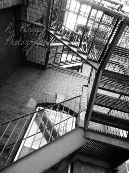 Stairway to the Stairs by R-Penney-Photography