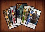Gwent cards HD russian edition by Andy811