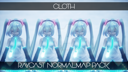 :DL: Cloth Normalmap Materials for Raycast MMD by NEPHNASHINE-P