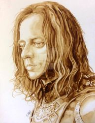 Jaqen H'ghar - A Man is a Painting by theancientofdays