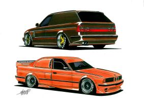 Stance E34 by bass-engineer