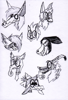 Xotiathon doodlez by SilverGriffinflare
