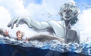 Going for a Swim by skyrore1999