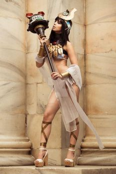 Menace - Queens Blade by ZombaeCosplay