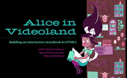 Title Slide for Alice in Videoland Presentation by rachelthegreat