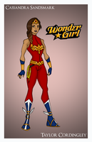 Request - Wonder Girl Redesign by Femmes-Fatales