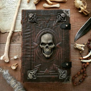 The Infamous Necromancer's Grimoire  by MilleCuirs