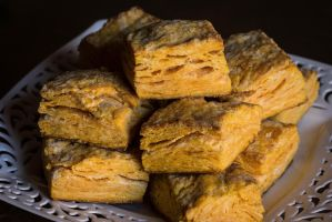 Sweet Potato Biscuits by Kitteh-Pawz