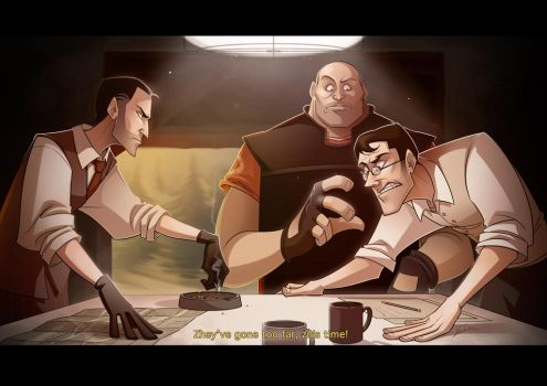 Under_pressure_EotL_TF2 by GiorgiaLanza