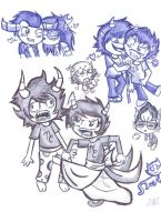 .:MSPA: Homestuck Sketch 01:. by Lord-Hon
