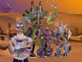 DR.artur thompson:the awakening of the robosapiens by puticron