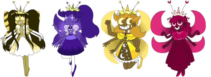 Queen's mewberty - set 2 by infaminxy