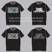 Thames Records T-shirt designs by Catspaw-DTP-Services