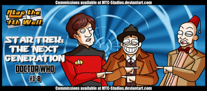 Star Trek- The Next Generation  Doctor Who  #1-8 by DrCrafty
