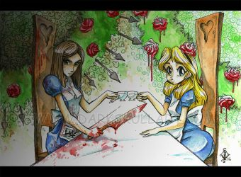 Alice n Alice by bezzalair