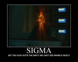 Sigma and Maine--(Poster) by XPvtCabooseX