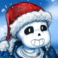Undertale - Holidays! by silsado