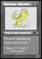 Meow MEow TCG Card 2 by NCH85
