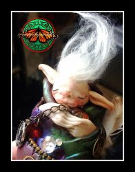 Steampunk Baby Troll Preview by Sindah