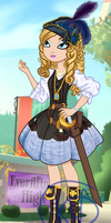 Ever After High Oc: Bella Jones by Kinga-of-Queens
