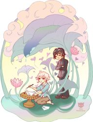 Xanthe and Linneus - love letters by neko-productions