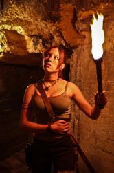Lara Croft REBORN cosplay - alone by TanyaCroft