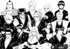 Bleach Vice Captains by SyiraRock