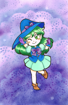 Witchy Aster by kabocha