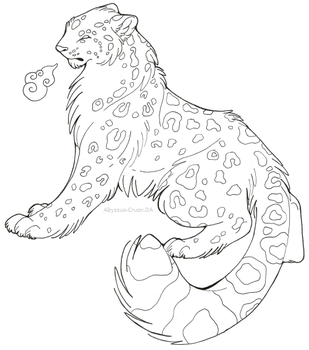 Art Request: Snow Leopard by Abyssus-Cruor
