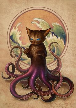 Octopussy by aeryael