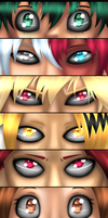 My Hero Academia Eyes by Mutant-Girl013